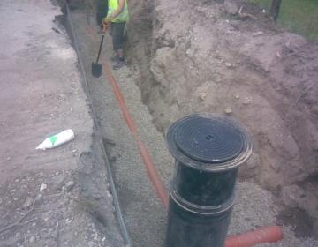 Kanalisatsioonikollektori ehitustööd (Omanikujärelevalve)