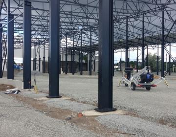 Büroo- ja laohoone ehitustööd (Omanikujärelevalve)